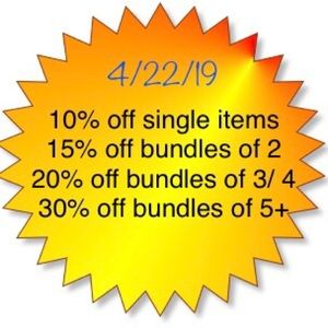 Other - Earth Day SALE!